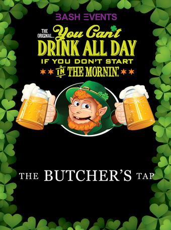 The Butchers Tap: 9:00am - 1:00pm #YCDAD