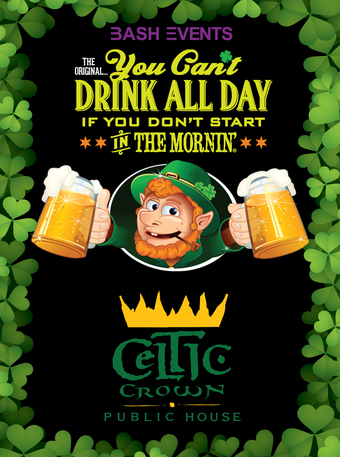 Celtic Crown: 10:00am - 2:00pm #YCDAD