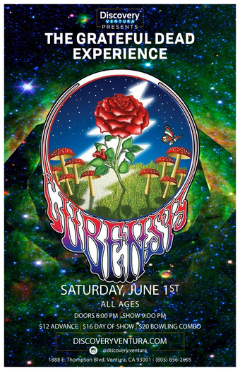 Cubensis - Tribute to Grateful Dead at Discovery Ventura