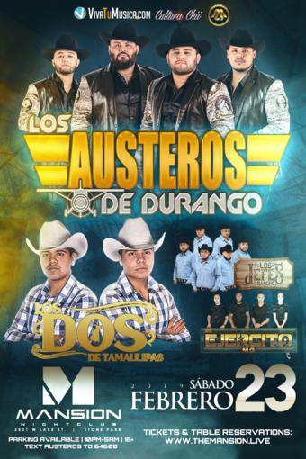 Los Austeros de Durango at Mansion Nightclub