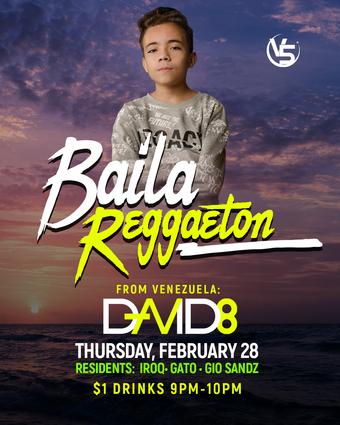 DJ D8 From Venezuela at Baila Reggaeton