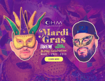 CLUB DV8's #MardiGras Birthday with DJ Drew & Chuey Martinez