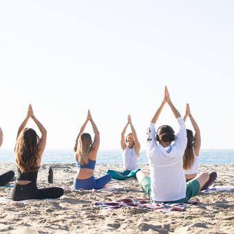 Silent Disco Beach Yoga // Saturday Morning Flow