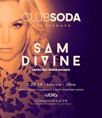 Club Soda w/ SAM DIVINE (Defected / DVINE Sounds)