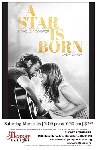 A Star is Born  (7:30 pm)