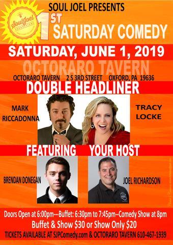 Oxford, PA: 1st Saturday Comedy at Octoraro