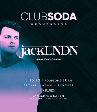 Club Soda w/ JACKLNDN (Ultra Records)