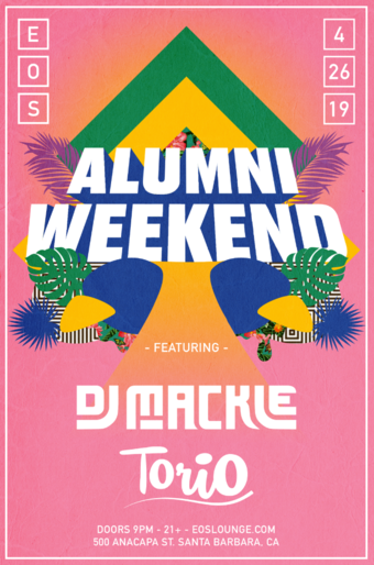 Alumni Weekend at EOS Lounge 4.26.19
