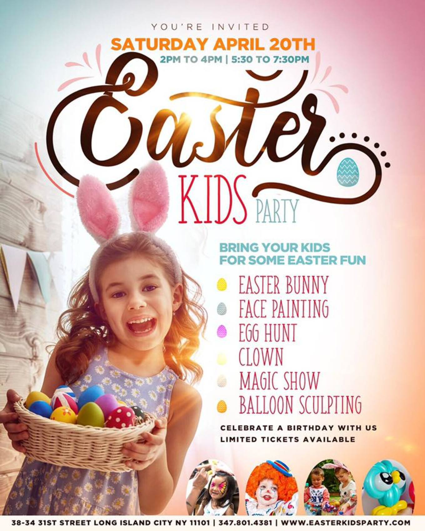 Easter Kids Disco Party Tickets Doha Long Island City