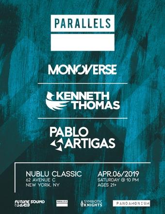 Parallels: Monoverse, Kenneth Thomas, Pablo Artigas