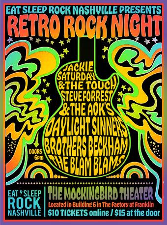 Eat, Sleep, Rock Nashville at Mockingbird Theater