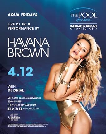 Aqua Fridays featuring Havana Brown
