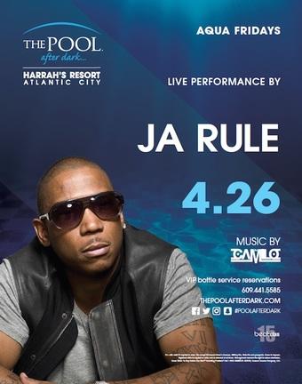 Aqua Fridays featuring Ja Rule