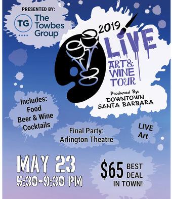 2019 Downtown LIVE Art & Wine Tour