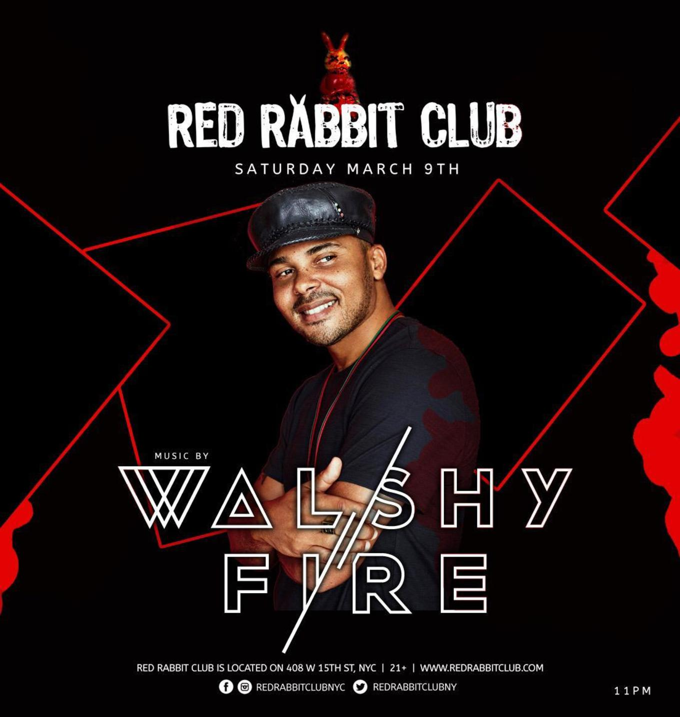 Walshy Fire of Major Lazer at Red Rabbit Club - Tickets