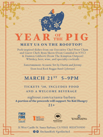 Year of the Pig Rooftop Celebration