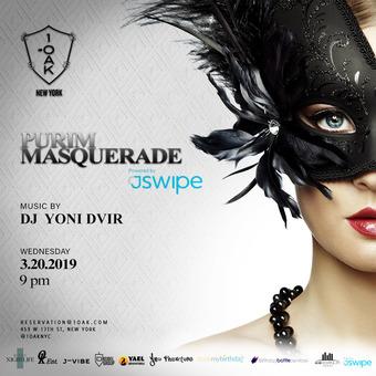 Purim Masquerade at 1Oak