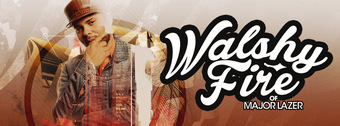Walshy Fire of Major Lazer at WALL Lounge 3/22