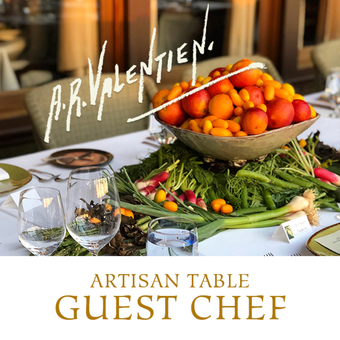 Artisan Table Guest Chef Series:  6/6/19
