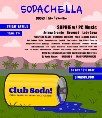 Club Soda presents SODACHELLA