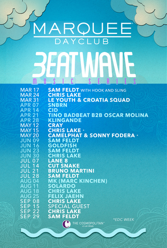 Chris Lake 09.08.19: Beatwave Music Series - Marquee Dayclub