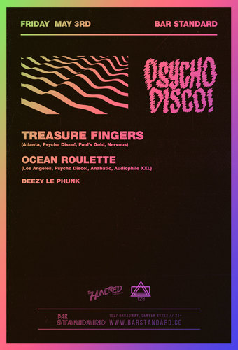 Treasure Fingers Psycho Disco Takeover