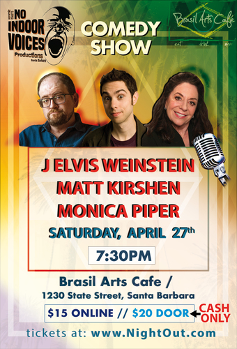 """""""AS SEEN ON TV"""" COMEDY SHOW! Monica Piper"""