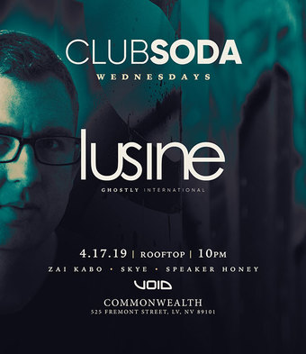 Club Soda w/ LUSINE (Ghostly Intl)