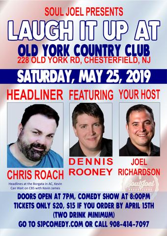 Comedy Night at Old York Country Club