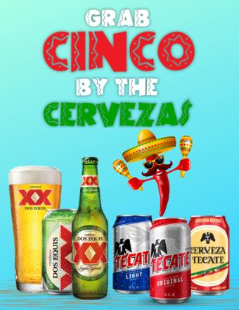 Grab Cinco By The Cervezas: Cinco De Mayo Pub Crawl Divison Street