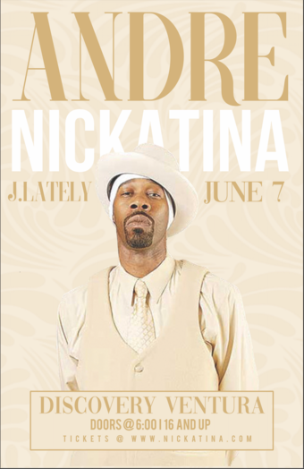 Andre Nickatina w. J. Lately at Discovery Ventura