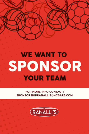 We Want to Sponsor Your Team!