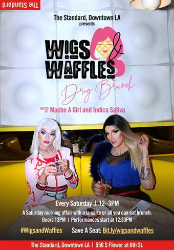 Wigs & Waffles Drag Brunch