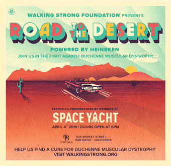 Road to the Desert feat. Space Yacht