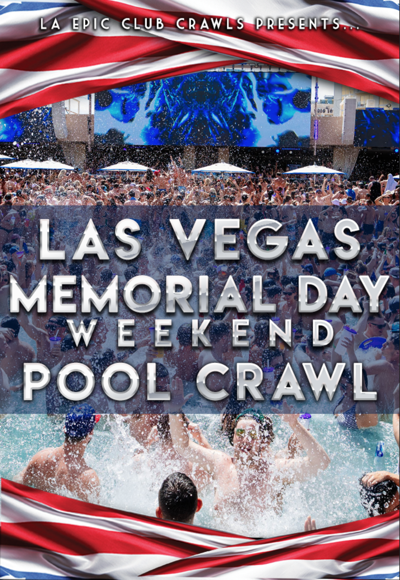 2019 Las Vegas Memorial Day Weekend Pool Crawl Tickets Tba Las