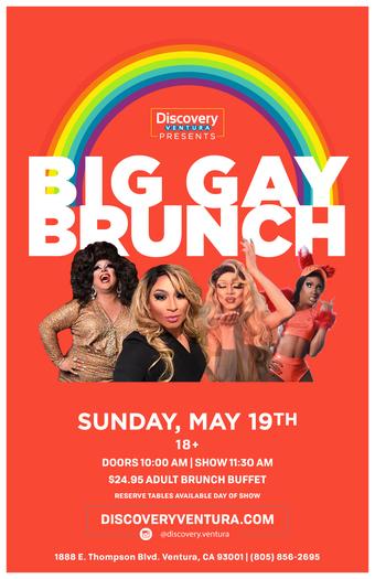 Big Gay Brunch at Discovery Ventura