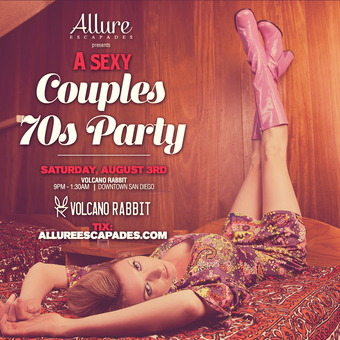 Allure Escapades Sexy 70's Couples Lifestyle Party
