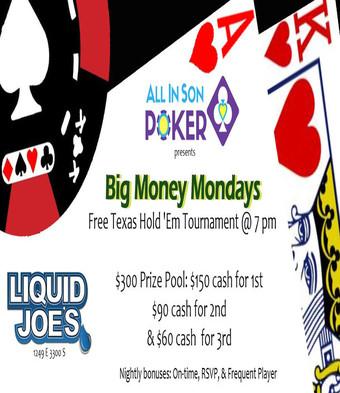 Monday Poker Night