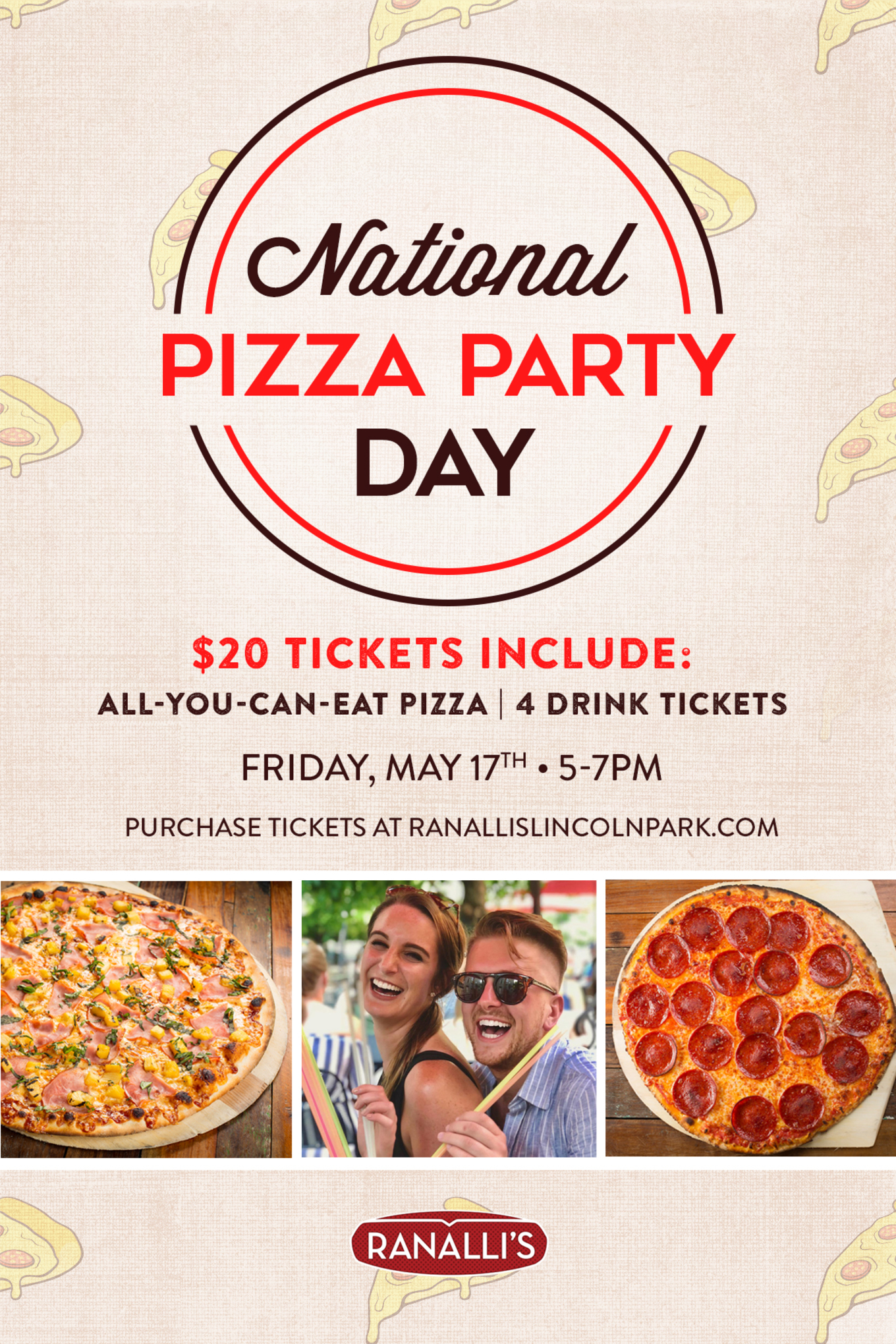 National Pizza Party Day 2019