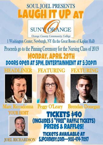 Newburgh: Laugh it Up in SUNY Orange