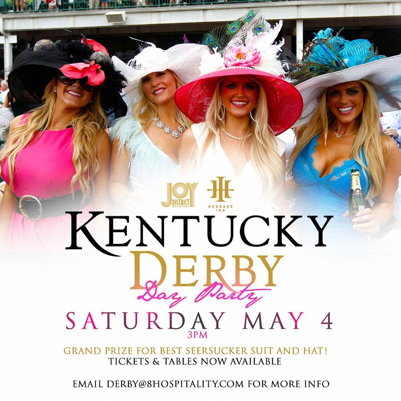 Kentucky Derby Party Joy District Hubbard Inn Tickets Joy