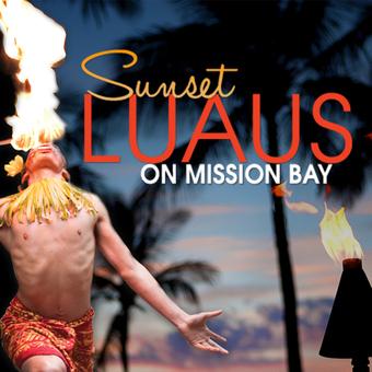 Sunset Luau on Mission Bay: 8/30/19