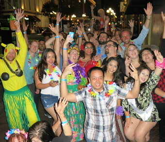 GET LEI'D HAWAIIAN CRAWL