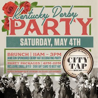 Kentucky Derby Open Bar Tickets