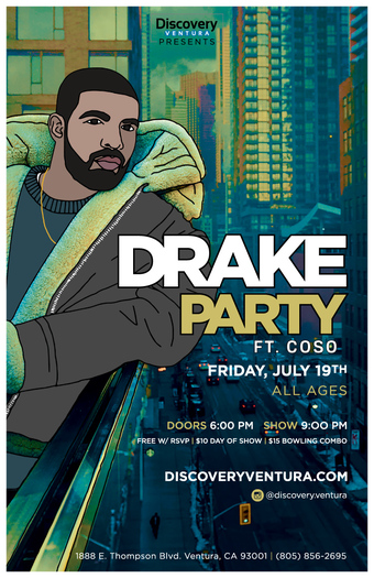 Drake Party ft. COSO at Discovery Ventura