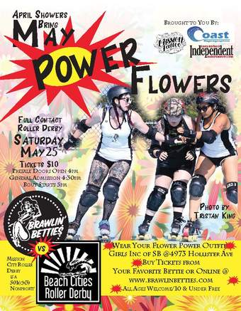 Live Roller Derby! Brawlin' Betties vs  Beach Cities Roller Derby