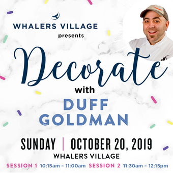 HFWF19 Decorate with Duff Goldman