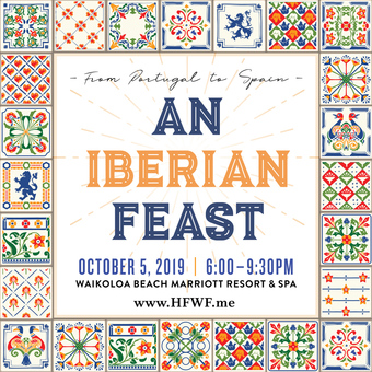 HFWF19 From Portugal to Spain: An Iberian Feast