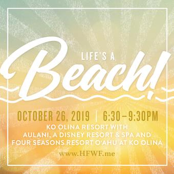 HFWF19 Life's a Beach