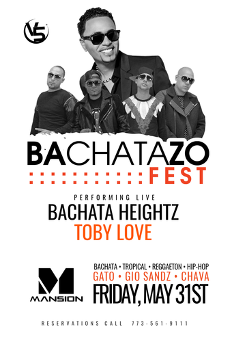 Bachata Heightz & Toby Love Live